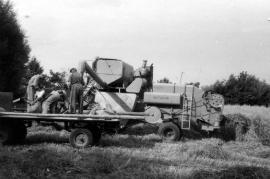 1960er bei der Ernte Götz 15HR