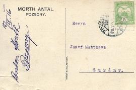 1916 Antal Morth a 15R
