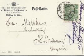 1914  Kleiner & Fleischmann a 1R
