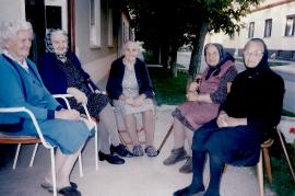 1997 Bankerlrunde Fr. Lehner,  Fr. Göbl, M. Toth, Fr. Sochr, Fr. Pflamitzer 24ML