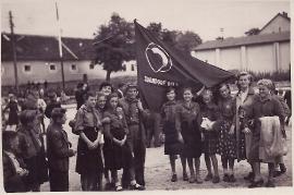 1950er roten Falken 26EDA