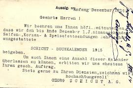 1914 Georg Schicht b 28R