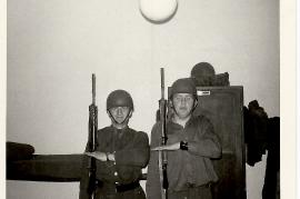 1970 in der Kaserne J. Müllner, W. Dürr 37DW