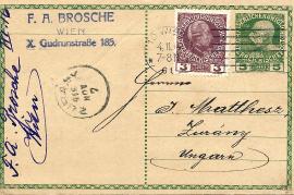 1916 Brosche F.A. Wien a 46R