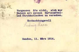 1914 Ludwig Marx b 4R
