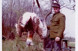 1967 J. Unger (Gruntsch) Abschuß des letzten Trappen 6UNGR
