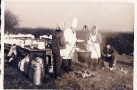 1967 Feldküche bei der Jagd 9UNGR