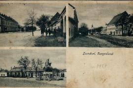1927 20 Zurndorf Ansichtskarte