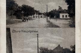1950er Ansichtskarte Zurndorf 3000. Foto 21HJ