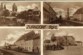 22 Zurndorf Ansichtskarte