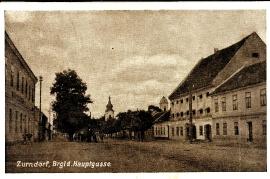 1932 30 Zurndorf Ansichtskarte