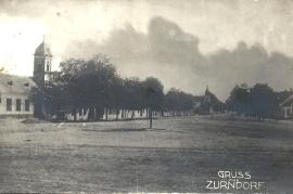 1950er Ansichtskarte Zurndorf 55NH