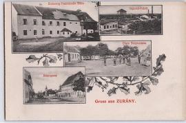 Zurndorf - Zurany, Mühle, Fabrik,