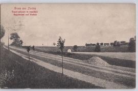 1921 Zurndorf, Bahnstraße u. Viadukt