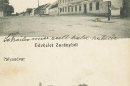 Zurndorf mit Bahnhof
