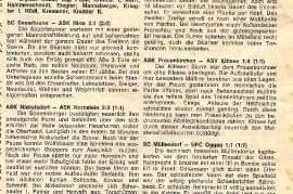 1968 ASV Zurndorf 2. Liga Nord BGLD Volksblatt 13.4.1968 92NH