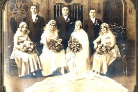 1930 Hochzeit Fam. Lentsch in Amerika 261B