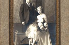 1929 Hochzeit M. Lentsch, F. Ettl in Amerika 274B