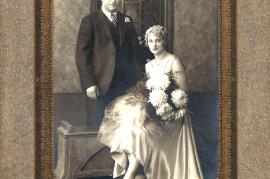 1929 Hochzeit M. Lentsch, F. Ettle in Amerika 274BA