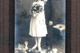 1930er Hochzeit Lentsch in Amerika 277B