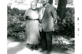 1956 Anna Horwath, and Andrew (Andreas) Horwath 34HW