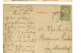 1910 1. Ansichtskarte 3.5.1910 35HW