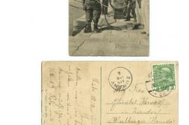1909 2. Ansichtskarte 4.4.1909 36HW