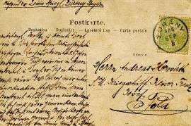 1906 postcard back 5HW