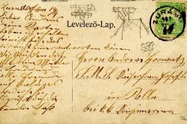 1908 postcard back 6HW