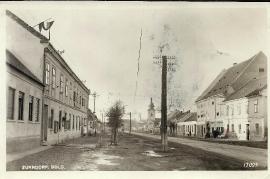Gemeindeamt einst