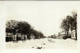 1941 58  Gasthaus Prominzer im Winter