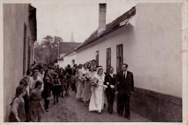 1950er Hochzeitszug unbekannt 23EDA