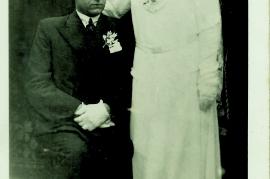 1930er  Paul und Maria Szakolcai (Samek) Schuster  2RW