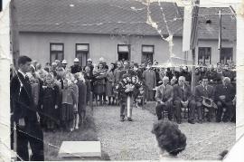 1962 Tag der Fahne sitzend Hr. Rechnitzer, Hr. Rosta, ????, 37SL