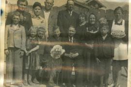 1930er Fam. Kischner, Johanns Hochzeit 64HW