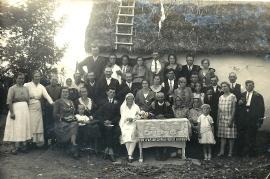 1930 Hochzeit M. Sonnleitner, K. Miletich 67So