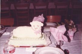 1979 Hochzeitstafel T. P. Unger 73UP