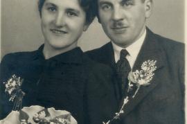 1930er Lina und Hans Ecker 7DM