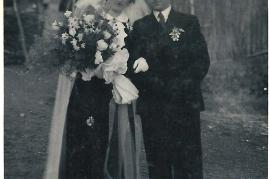1939 M. Amri, P. Amri, Hochzeit 12.2.1939 A149