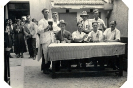 1947 Kirtag Gasthaus Thell 88AM