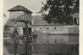 1950er Hochwasser 45Gö