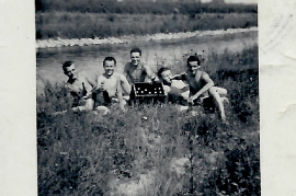 1956 Jugend bei der Leitha 54RM
