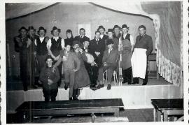 1960er ev. Theatergruppe Aufführung