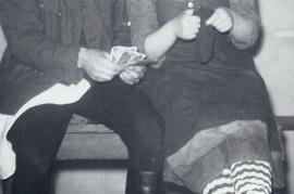 1958 ev. Theatergruppe Zurndorf ?, Fr. Nitschinger 65RM