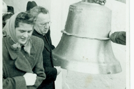 1954 Glockenweihe E. Göbl, Pfarrer Berger 9ML