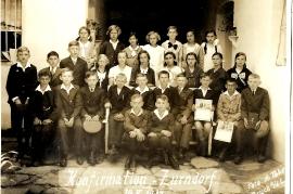 1934 Konfirmation