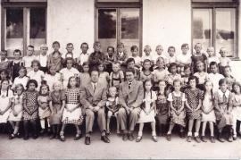 1935 12 Schule 1935-36  Jahrgang 1927-28
