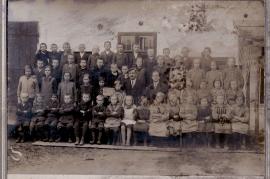 1920er Schulbild Jahrgang 1913 bis 1915 1HJ