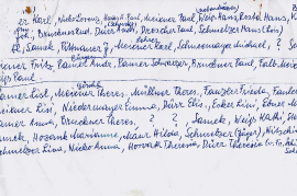 1920er Namen Schulbild Jahrgang 1913 bis 1915 1HJ