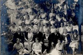1910er Schulklasse ohne Namen 201PM